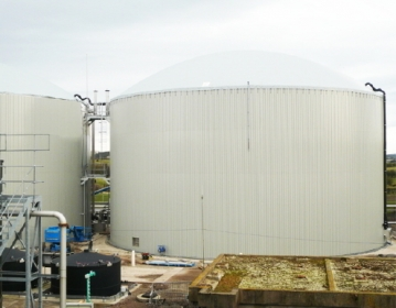 Cheese waste digesters at Lake District Biogas