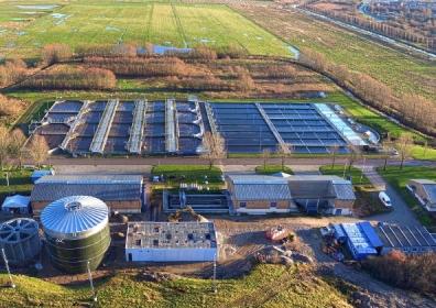 Egaa wastewater plant