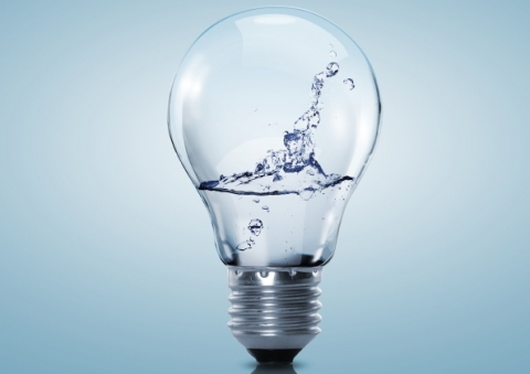 Water utilities and energy (© Sergey Nivens / Shutterstock)