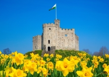 The Norman Keep, Cardiff Castle, Wales. © Billy Stock / Shutterstock