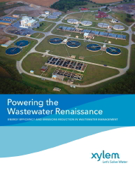 Xylem Powering the Wastewater Renaissance